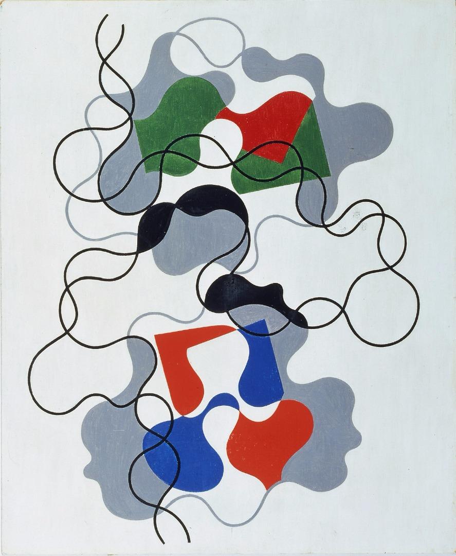 Sophie Taeuber-Arp, Summer Lines / Letnie linie, 1942