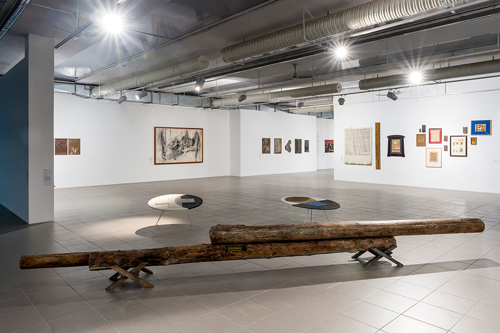 Galeria BWA, Linia i chaos, fot. M. Niesłony