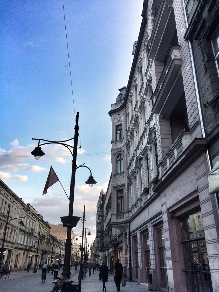 Festiwal Sztuki Współczesnej Blask | Brzask, ul. Piotrkowska