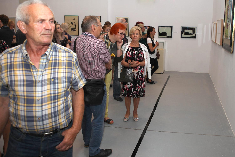 Wernisaż wystawy Od Malewicza do Strzemińskiego