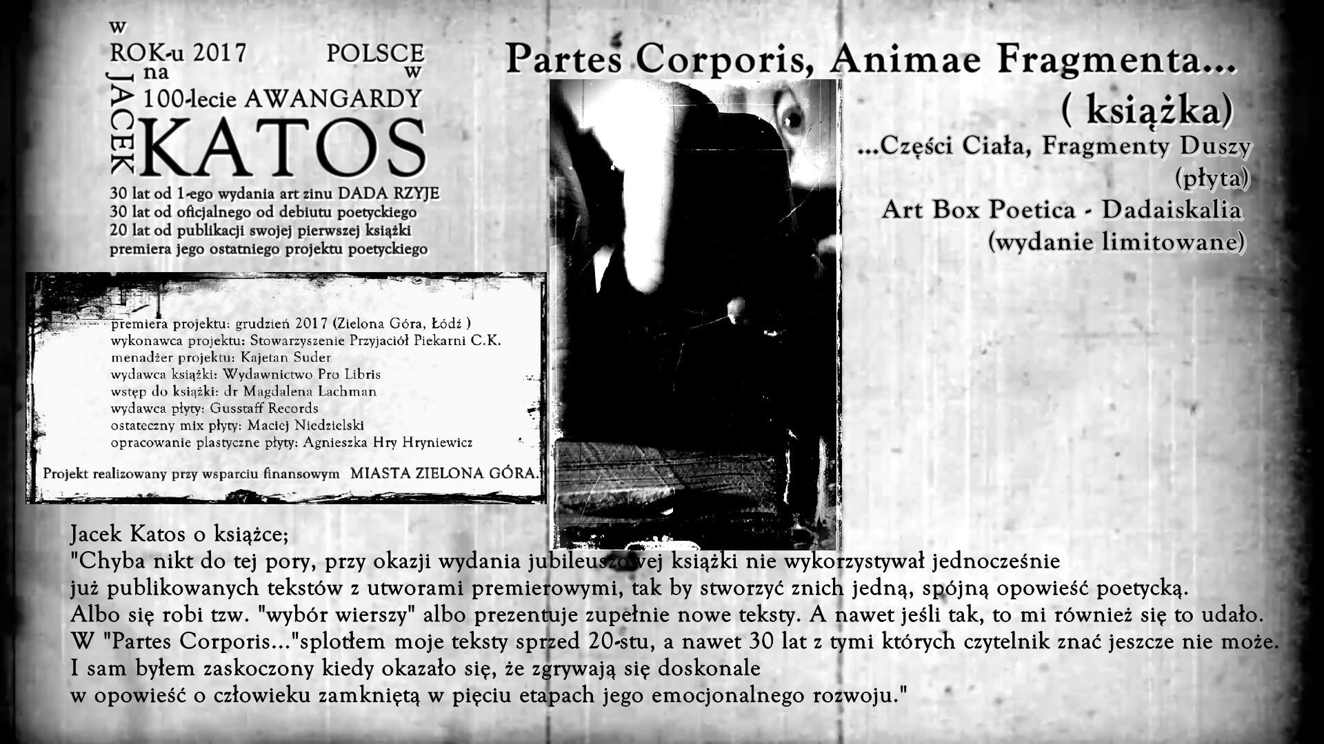 Partes Corporis, Animae Fragmenta...
