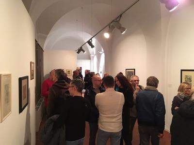wernisaż wystawy Twarze Awangardy. Artyści I Grupy Krakowskiej