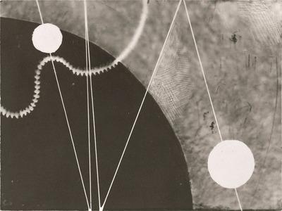 Karol Hiller, Kompozycja heliograficzna (II), ok. 1928-1930