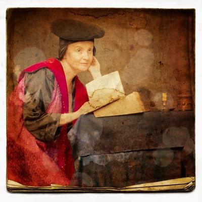 Janina K., Podczas studiów w Krakowie. 1544 r.,fot. Łódź Kaliska