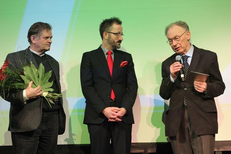 Michał Głowiński - Laureat Nagrody im Tuwima, 2016