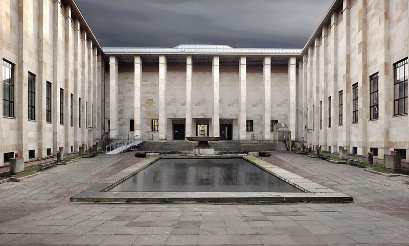 Gmach główny Muzeum Narodowego w Warszawie