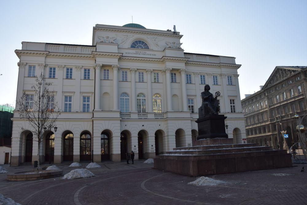 Pałac Staszica - siedziba IBL