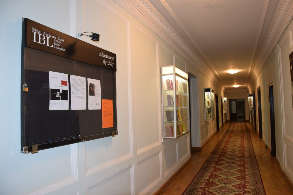 The Institute of Literary Research of the Polish Academy of Sciences
