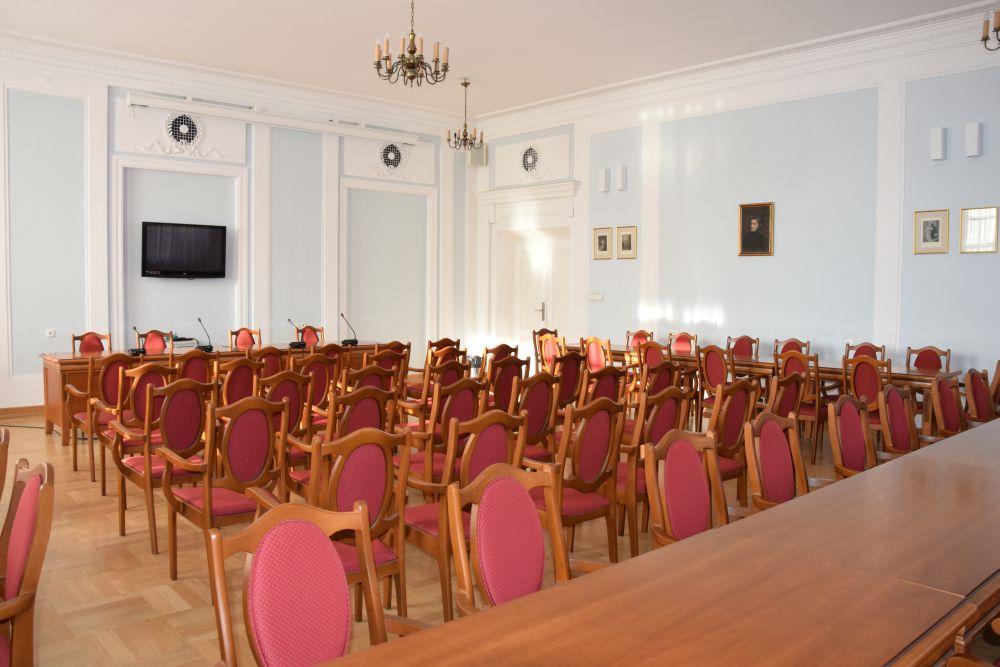 Sala konferencyjna imienia Adama Mickiewicz