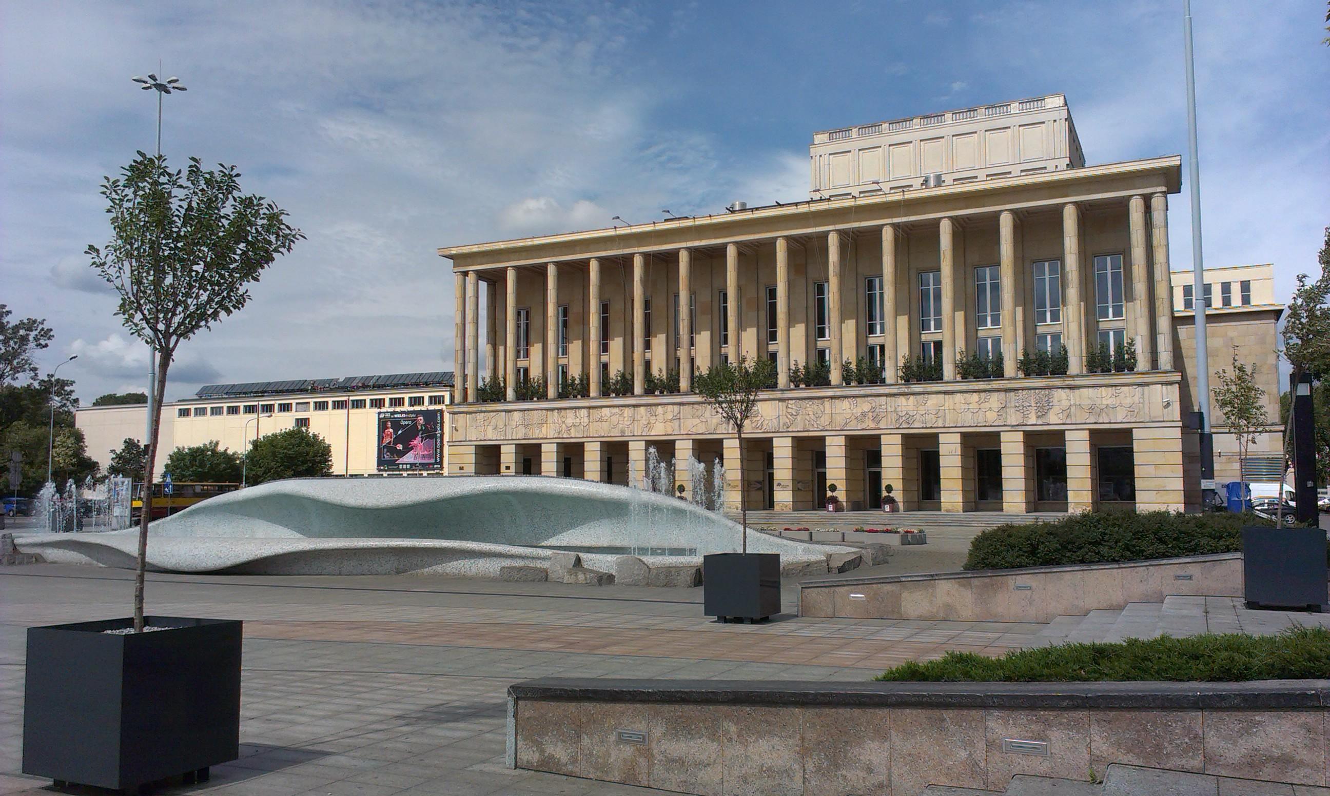 Teatr Wielki w Łodzi, fot. Emilia Rzeźnicka