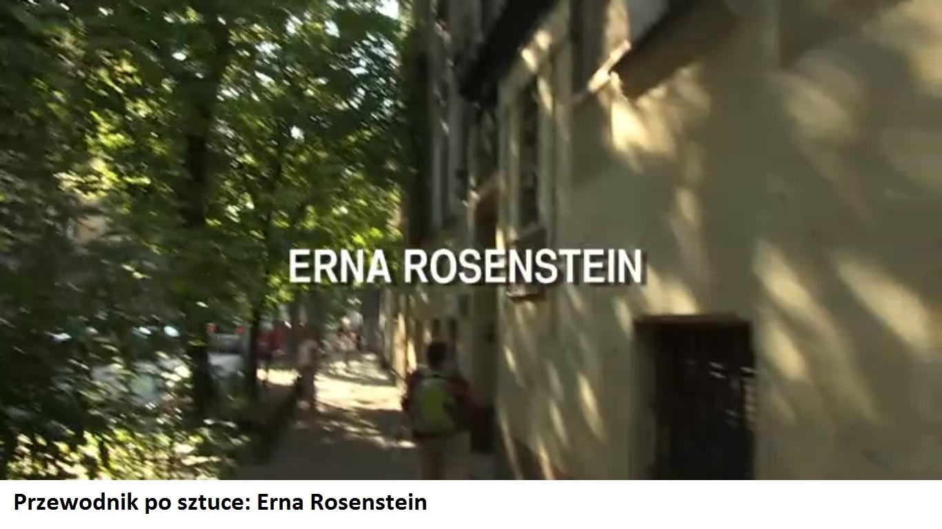 Przewodnik po sztuce | Erna Rosenstein