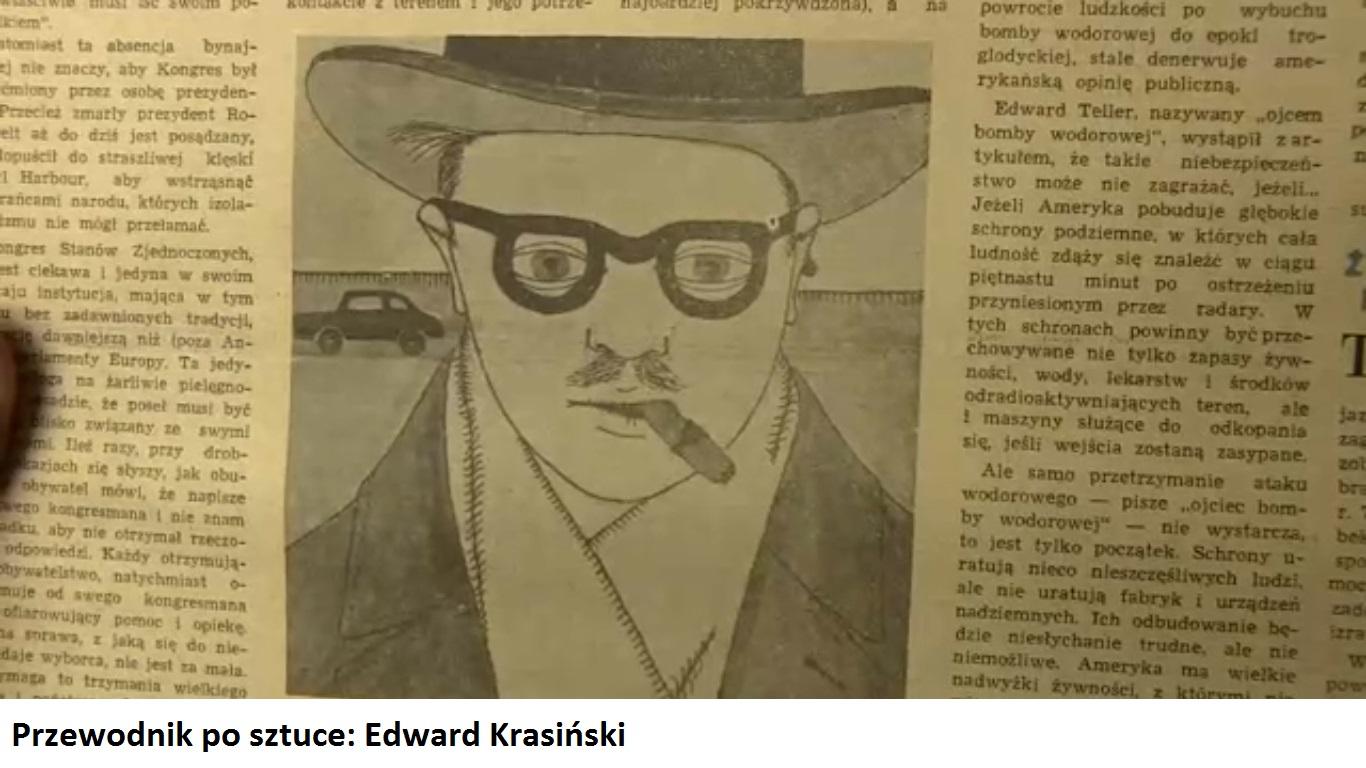 Przewodnik po sztuce | Edward Krasiński